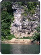 Spectacular Bluff Along Buffalo River