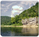 Bluff Along Buffalo River